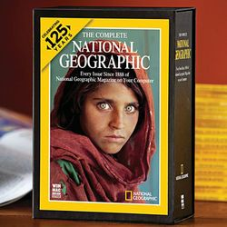 Complete National Geographic Magazines: 125th Anniversary Edition