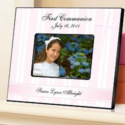God Bless the Children Personalized First Communion Picture Frame