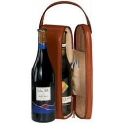 Single Wine Bottle Leather Presentation Case