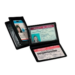 Tri View ID Holder