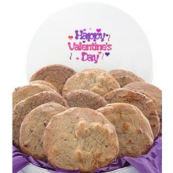 Valentine's Day 3lb Tin - 12 Gourmet Cookies
