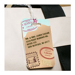 Personalized Travel Luggage Tag