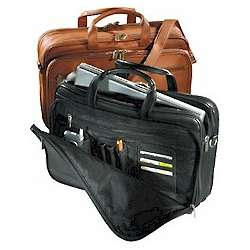Vaqueta Organizer Laptop Briefcase
