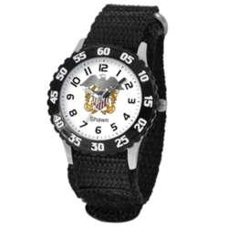 Personalized Kid's U.S Military Navy Time Teacher Watch