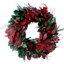 Season's Greetings Dried Wreath