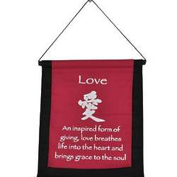 Love Mini Zen Wall Hanging