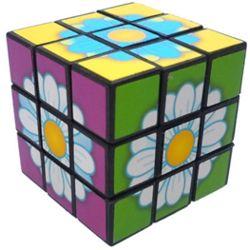 Flowers Mini Cube Puzzle
