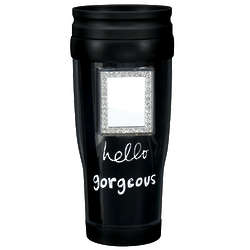 Hello Gorgeous Travel Mug with Mirror