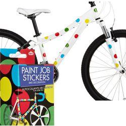 Polka Dot Bike Stickers