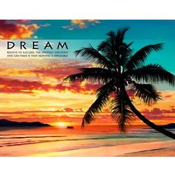 Dream Beach Motivational Poster