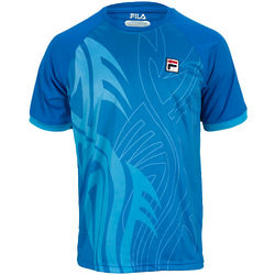 Men's Janko Tattoo Tennis Crew Skydiver Shirt