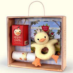 Ducky Baby Gift Basket