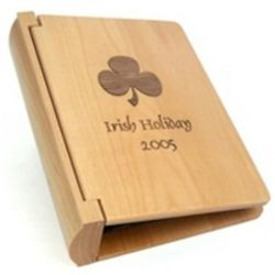 Personalized Mini Maple Wood Photo Album
