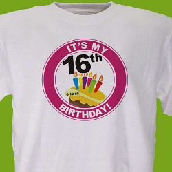 It's My Birthday Personalized T-Shirt