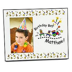 Birthday Train Photo Frame