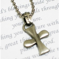 A Special Prayer Cross Necklace