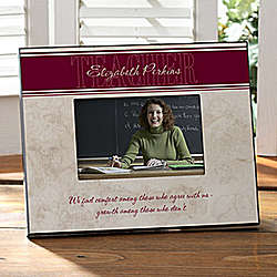 Inspiring Teacher Personalized Frame
