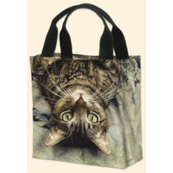 Striped Tabby Cat Tote Bag