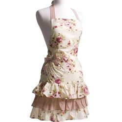 Marilyn Venetian Rose Apron