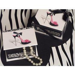 Dazzling Divas Leopard High Heel Jewelry Box