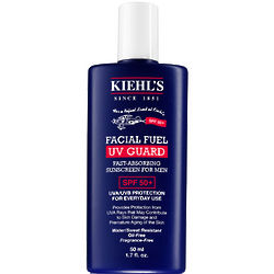 Kiehls Facial Fuel UV Guard SPF 50+ Sunscreen for Men