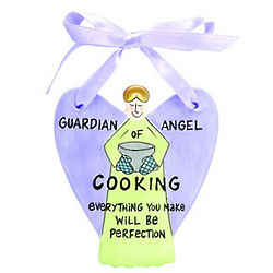 Guardian Angel of Cooking Ornament
