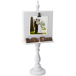 Wedding Wooden Pedestal Frame