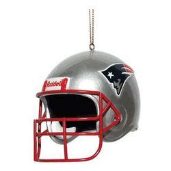 NFL Patriots Helmet Ornament