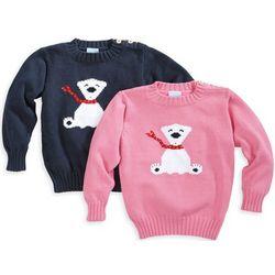 Child's Intarsia Polar Bear Sweater