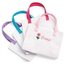Personalized Flower Girl Tote