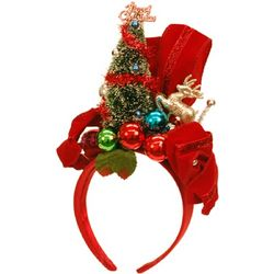 Kitschy Christmas Tree Headband
