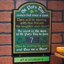 St. Pat's Countdown Calendar