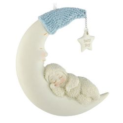 Moon Beam Boy Snowbabies Ornament