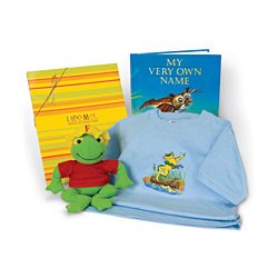 """""""My Very Own Name"""" T-Shirt Gift Set"""