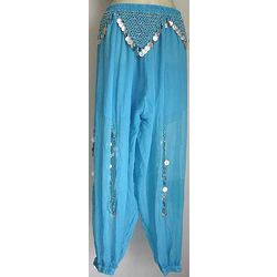 Sky Blue Belly Dancer Harem Pant