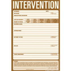 Intervention Notepad