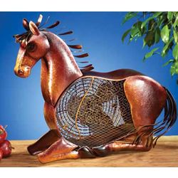 Horse Figurine Fan