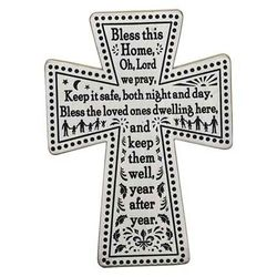 Bless This Home Wall Cross