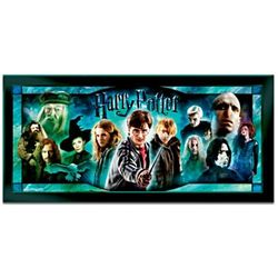 Harry Potter Illuminating Stained-Glass Panorama Wall Decor