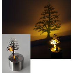 Lumen Pine Tree Shadow Projector
