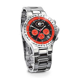 Men's Georgia Bulldogs Collector's Watch