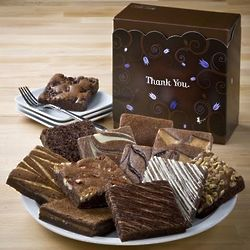 Thank You Dozen Brownies Gift Box