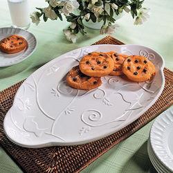 Embossed Bird Platter