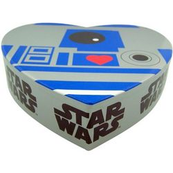 R2D2 Robot Heart Box with Gummy Candy