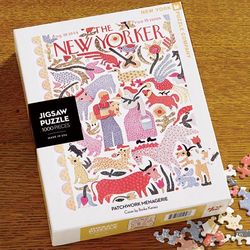 The New Yorker Patchwork Menagerie Puzzle
