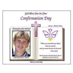 Confirmation Personalized Poetry