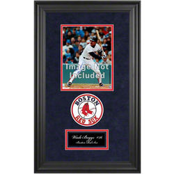 Boston Red Sox Deluxe 8x10 Frame with Team Logos and Nameplate