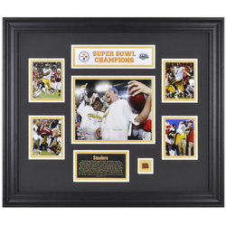 Steelers Super Bowl XLIII Champions Framed Photo Collage