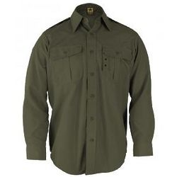 Long Sleeve Tactical Olive Drab Dress Shirt