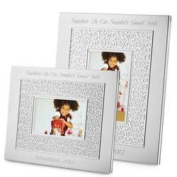 2012 Make-A-Wish 4x6 Pierced Picture Frame